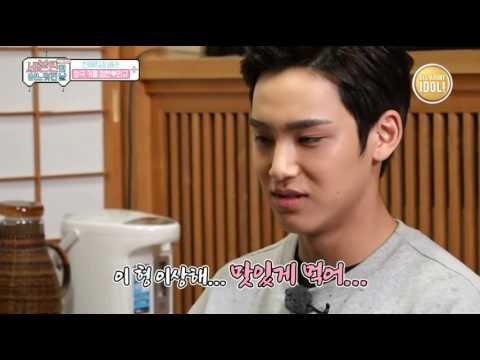 Seventeen One Fine Day in Japan - jeonghan and mingyu's talk