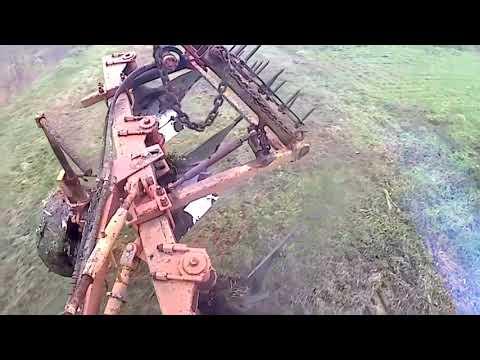 видео: недо МТЗ-82.1 оранка 2018 (2 частина)