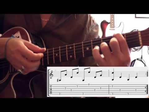 Number three (Ben Harper) - (Tuto guitare + UK Subtitles) + TABS