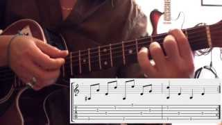 Number three (Ben Harper) - (Tuto guitare + UK Subtitles) + TABS