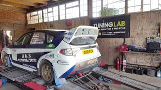Subaru Impreza Rally Car Dyno Run