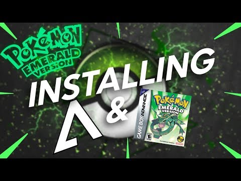 How To Install NO$GBA And Pokemon Emerald! (2018)
