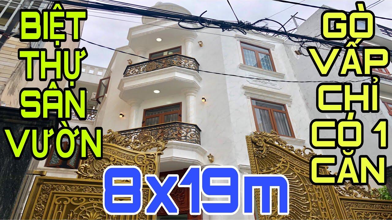 Bán nhà Gò Vấp | Thăm quan biệt thự sân vườn 140 m2 ngay sát bên sân Gôn Tân Sơn