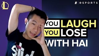 You Laugh, You Lose with FlyQuest's Hai