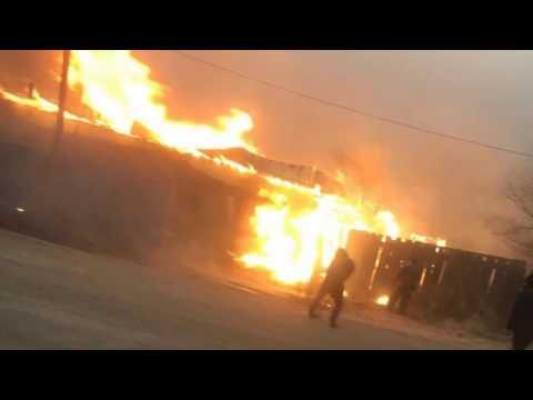 Борзя, пожары 19.04.2019. Как это было