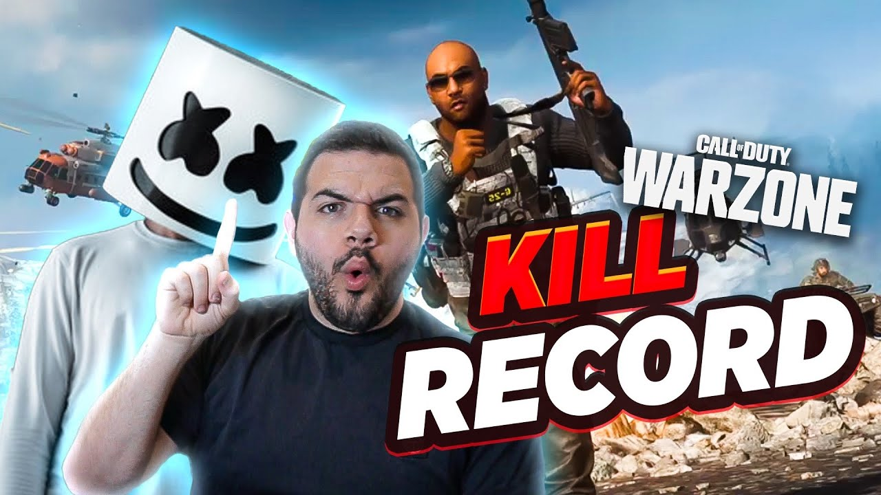 Marshmello and I set our Warzone kill record...