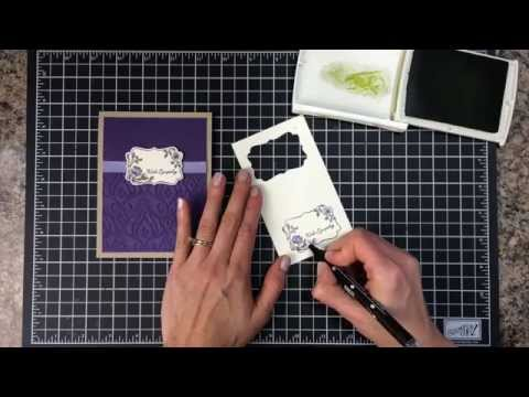 Ink It Up With Jessica TV Episode #1: Sympathy Card