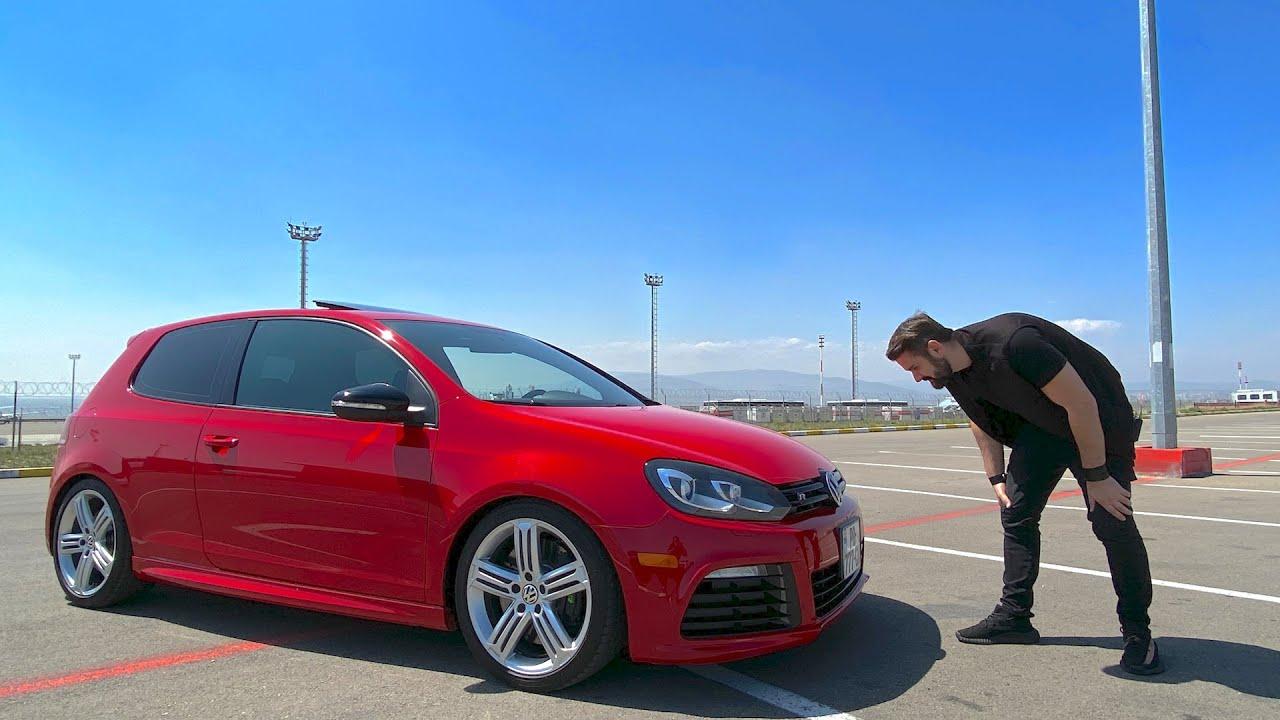 უხეში ტესტ დრაივი – VW Golf R – Turbo! – უბედურ ცხენებზე…