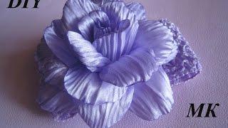 Роза с гофрированными лепестками МК.DIY