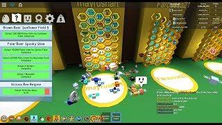 RENCONTRER ET JOUER AVEC MAYRUSHART!!! (5ème au classement mondial) Simulateur d'essaim d'essaim d'abeille de Roblox