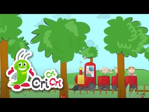 Trenul – karaoke | CriCriCri #cantecepentrucopii – Cantece pentru copii in limba romana