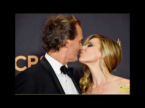 'Stranger Things' Stars David Harbour Cara Buono & Matthew Modine Hit the Emmys 2017 Red Carpet