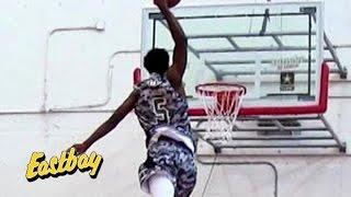 Derrick jones crazy dunks at ballislife all american dunk contest presented by eastbay!!