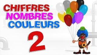 Apprendre aux enfants les Chiffres et les couleurs (Learn Numbers and colors for kids - Serie 02) 4k