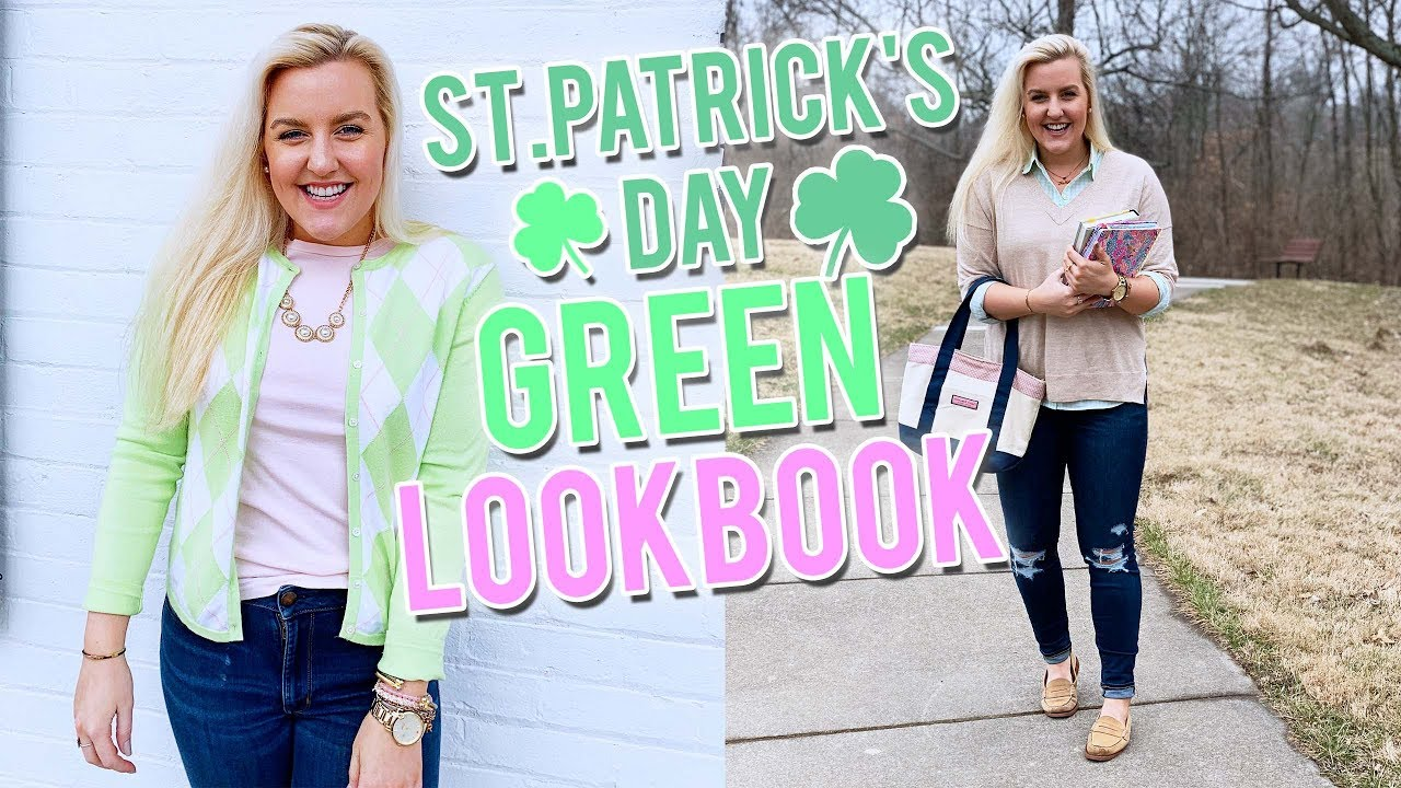 [VIDEO] - ST. PATRICK'S DAY OUTFIT IDEAS....A VERY GREEN LOOKBOOK|| Kellyprepster 5