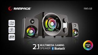 Rampage Rms G8 Ses Sistemi Işıklı Mışıklı