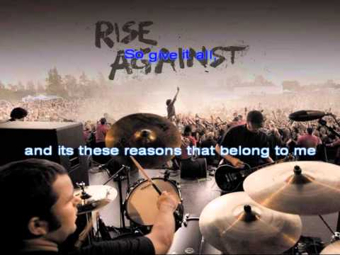 Rise Against - Give it all [Karaoke]