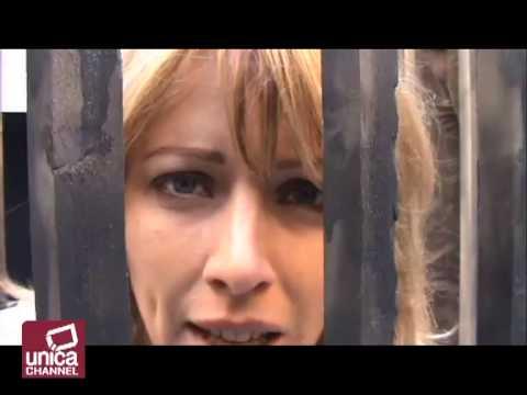 Elisabetta Cannata nuda contro la vivisezione