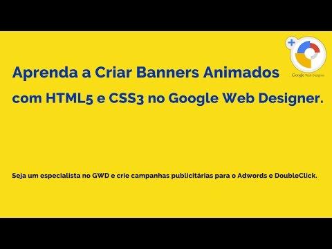 Criando um Banner Animado em HTML5 e CSS3 no GWD