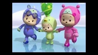 Hutos Mini Mini ICE SKATING cartoon for kids funny korean english cartoon for Children