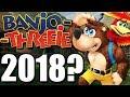 Will Microsoft make a Banjo-Kazooie Game in 2018? Banjo-Threeie?