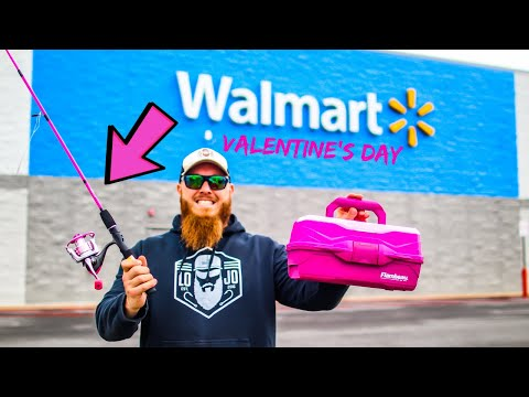 valentine's-day-gear-only-fishing-challenge-(rod,-reel,-line,-lures)