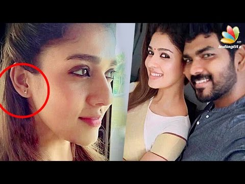 Nayanthara''s special love earring for Vignesh Sivan   Latest Malayalam Cinema News