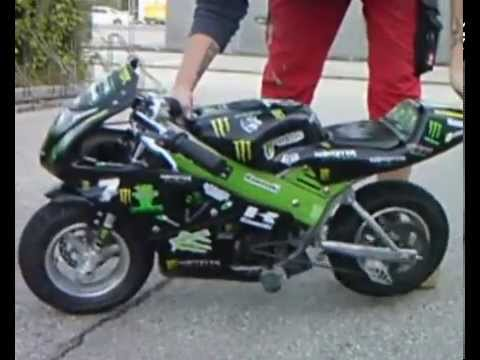 Monster Energy Pocket Bike Projekt Youtube