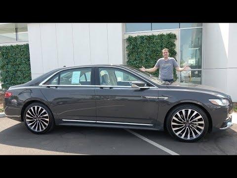 Вот почему Lincoln Continental - это недооцененный люксовый седан