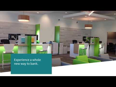 The Future of Banking Is Here   New Regions Bank Branch Design