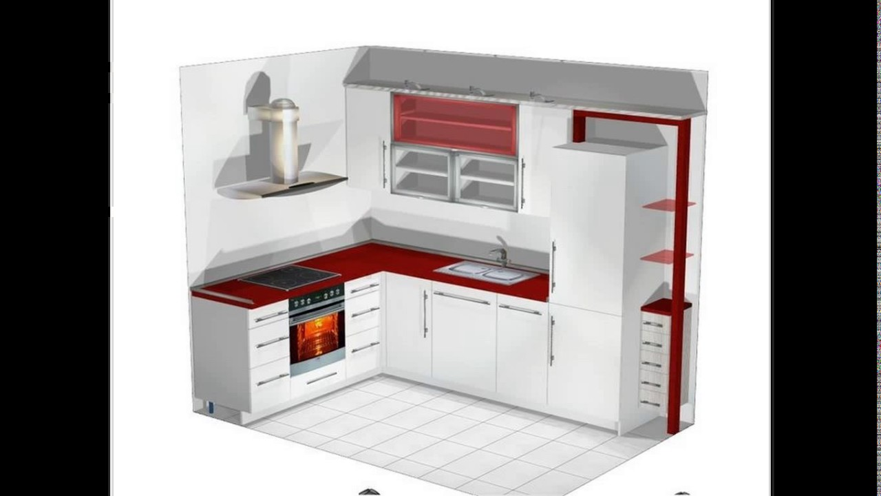 Kitchen Design Small L Shaped Youtube