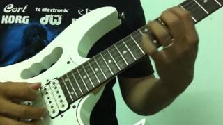 """Học solo guitar - Hướng dẫn kỹ thuật """"Rolling finger"""" uốn cong ngón khi chặn [HocDanGhiTa.Net]"""