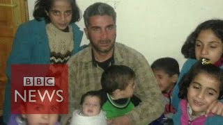 'My wife and seven children drowned' - BBC News