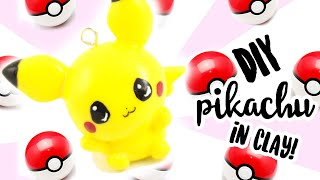 """♡ DIY """"Baby"""" Pikachu Charm in CLAY ♡   Kawaii Friday"""