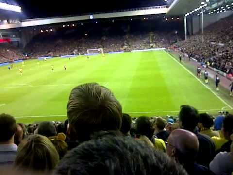 Liverpool 1 1 Norwich during the game