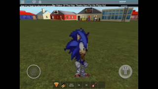 Sonic and toy Chica adventures episode 24 ROBLOX