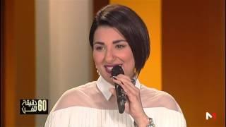 ليلى البراق واداء رائع لمقطع من أغنية وعدي بمرافقة الموسيقار عزيز حسني في برنامج