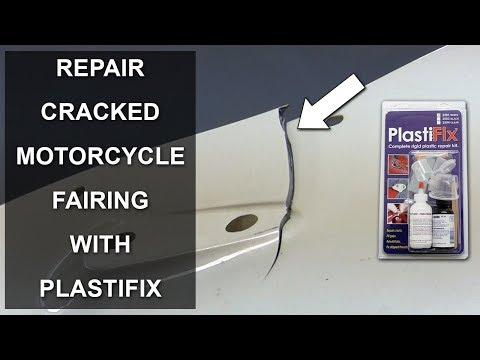 Repair Cracked And Broken Motorcycle Fairing With PlastiFix