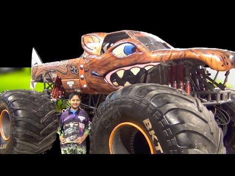 Monster Jam - Brad Allen - Brutus Truck - 2017 Pit Party - Indianapolis