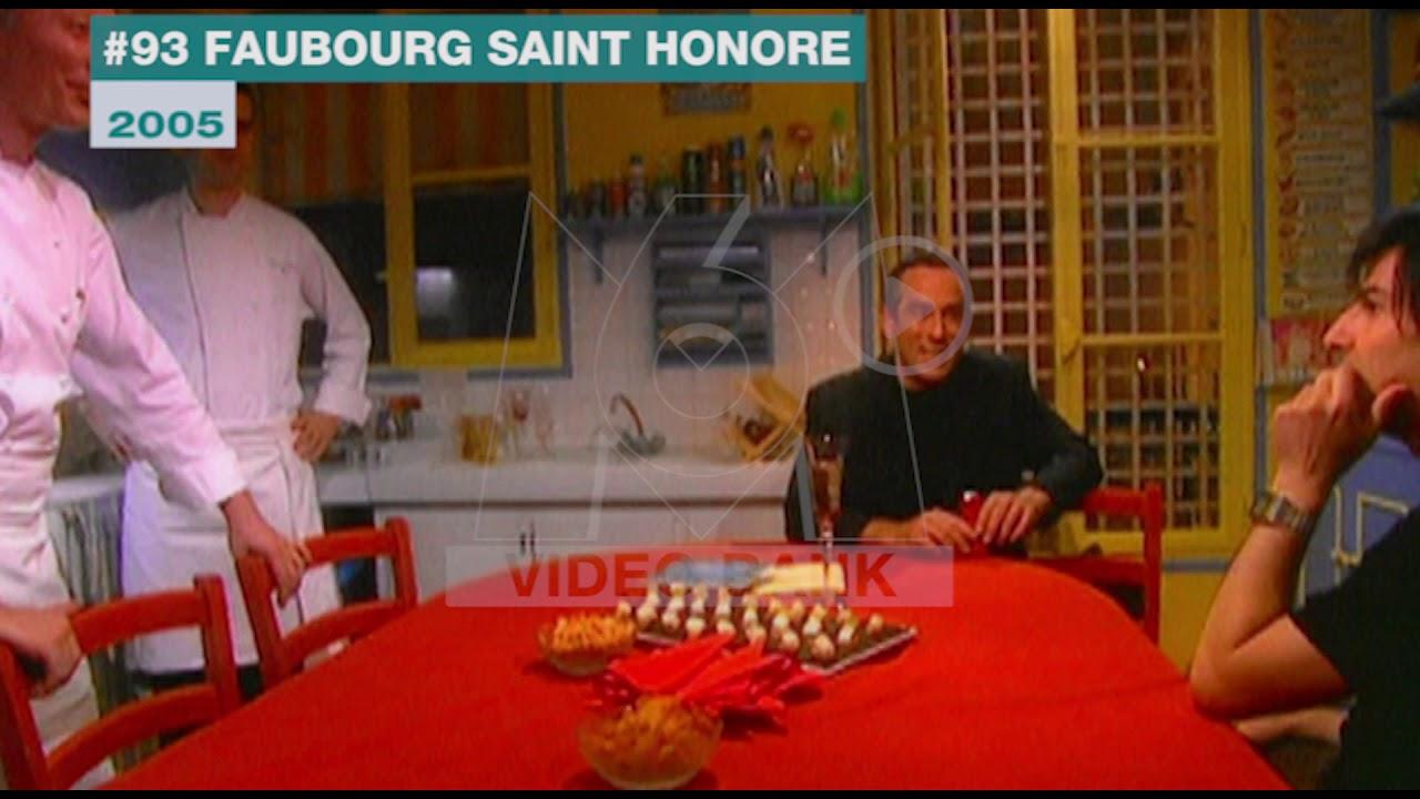 Extrait Archives M6 Video Bank 93 Faubourg Saint Honor