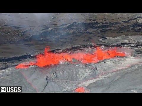 شاهد: ثوران بركان في هاواي  - نشر قبل 1 ساعة