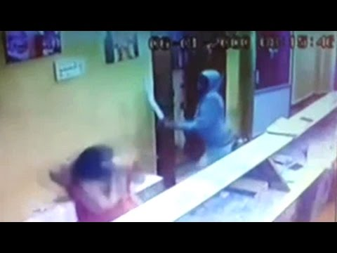 On Camera, Engineer Attacks Woman In Karnataka Temple With M