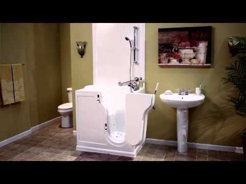 Walk-In Tubs and Showers from Premier Care in Bathing - 2014 - Gail - 30 Second