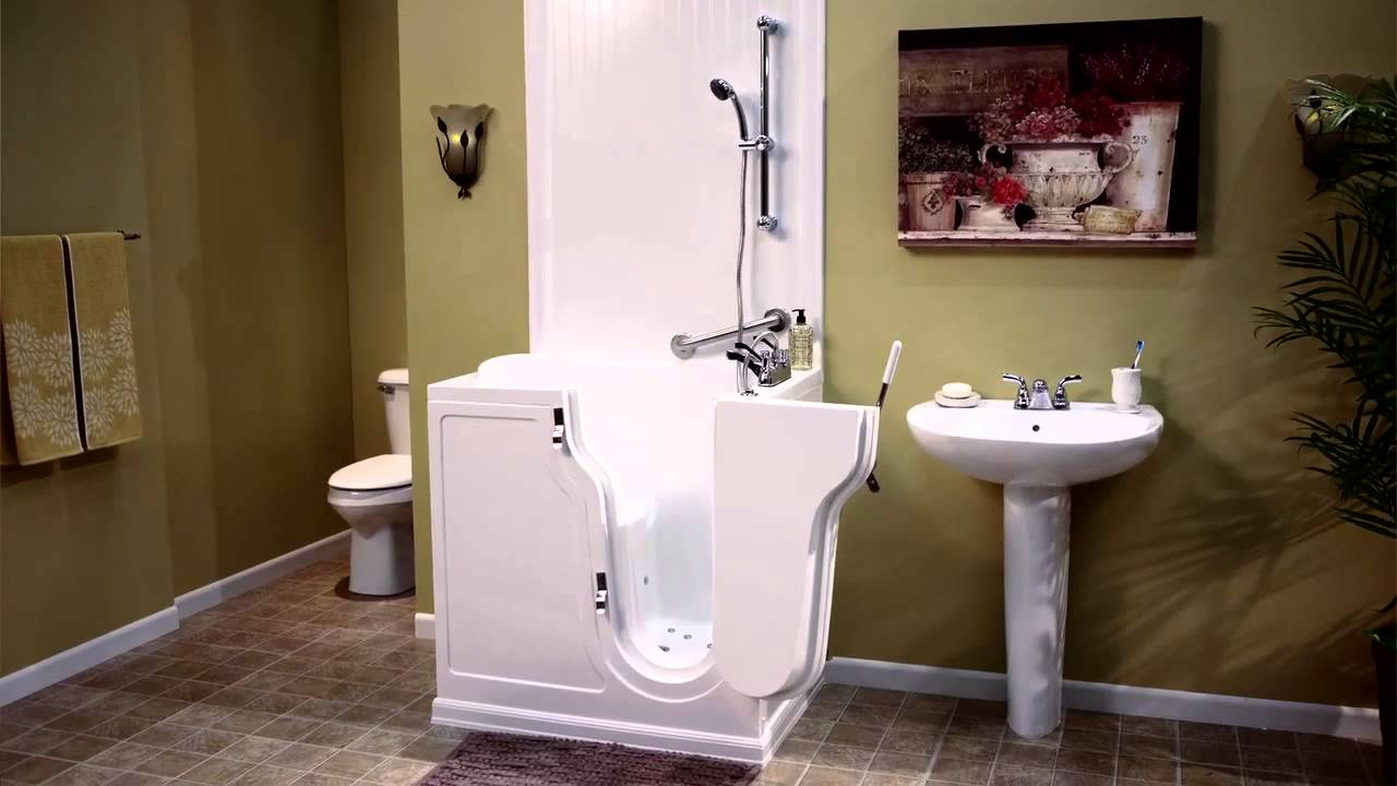 Walk-In Tubs and Showers from Premier Care in Bathing - 2014 - Gail ...