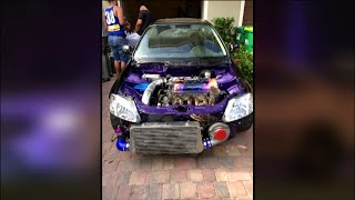 Modified car burst into flames killing Margate couple