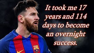 Lionel Messi - Never Give Up - Motivation - Genius of Geniuses