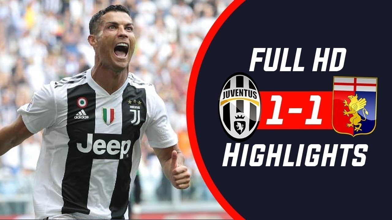 Juventus vs Genoa 1-1 — HIGHLIGHTS ...