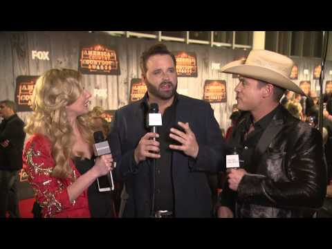Randy Houser Red Carpet Interview - ACCAs 2014