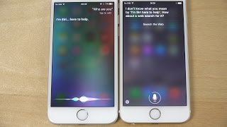 iOS 9 Siri Meets iOS 8 Siri! (4K)