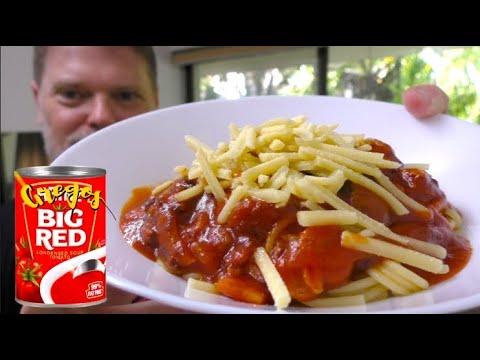 Creamy Tomato Soup And Bacon Spaghetti Recipe